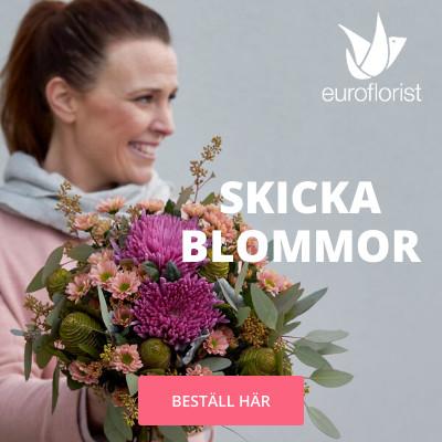 skicka blommor euroflorist